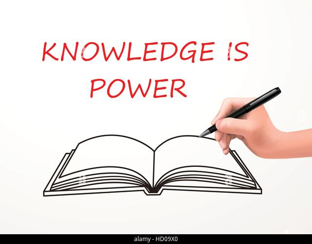 Knowledge Is Power Stock Vector Images - Alamy