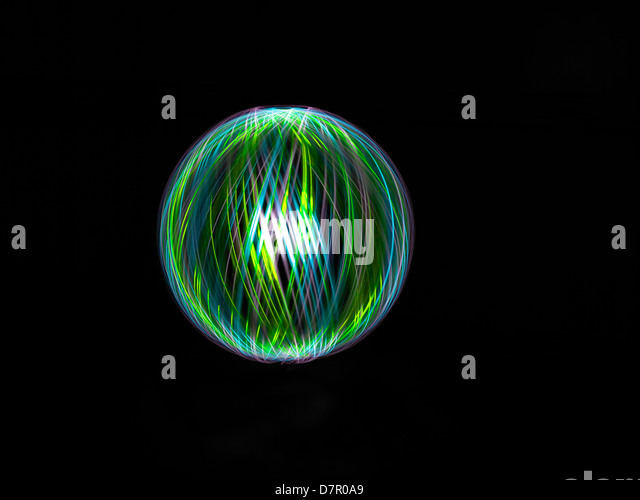 Light painting patterns - Stock-Bilder
