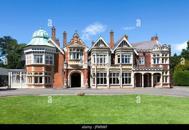 Bletchley Park Manor - Stock Image