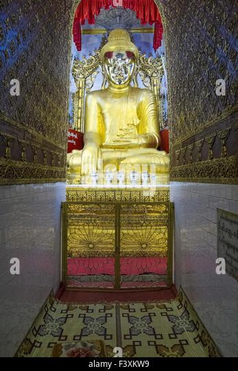 Yadana Man Aung Pagoda, Nyaung Shwe, Myanmar - Stock-Bilder