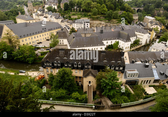 Alzette valley luxembourg stock photos alzette valley for Cdc luxembourg