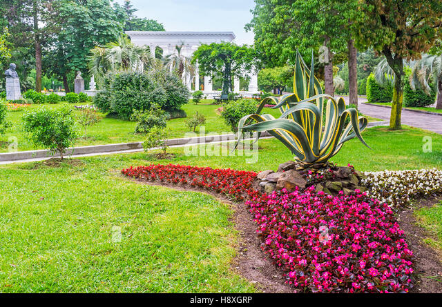 Begonia town stock photos begonia town stock images alamy for Beautiful flower beds