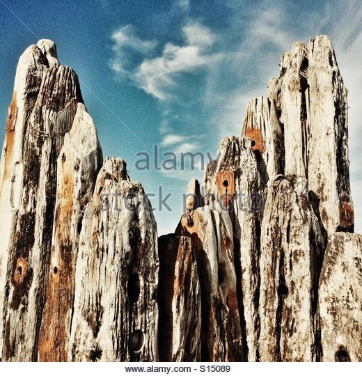 Old weathered wood - Stock-Bilder