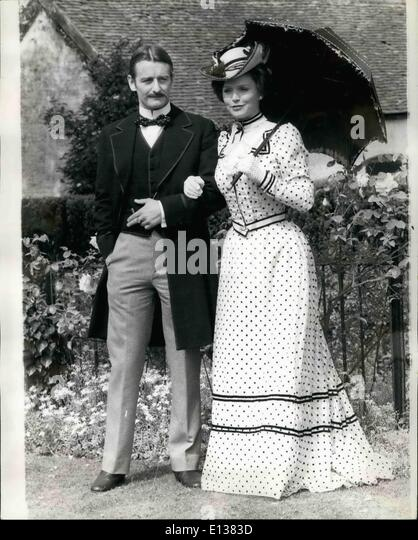 Feb. 29, 2012 - Churchill And His Mother: A New Version Of His Early Life For TV: Winston Churchill, One of the - Stock Image