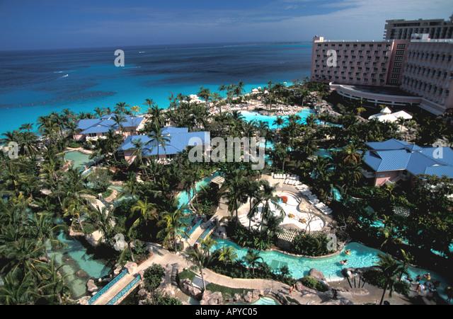 Paradise Island Bahamas Atlantis Resort - Stock Image