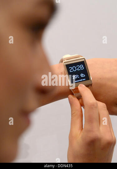 The Samsung Galaxy Gear Presented at the IFA in Berlin