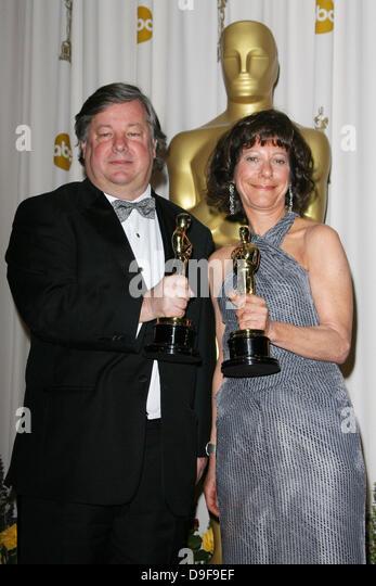 Kirk Simon and Karen Goodman 83rd Annual Academy Awards (Oscars) held at the Kodak Theatre - Press Room Los Angeles, - Stock Image