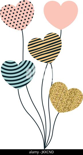 Symbolic decorations stock photos symbolic decorations for Heart shaped decorations home