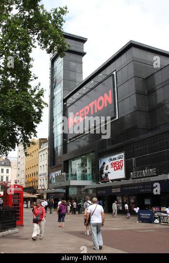 The Odeon Cinema, Leicester Square, London, England, U.K. - Stock Image