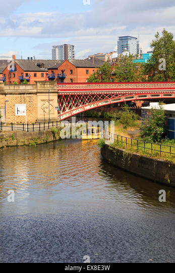 River Aire, Leeds, Yorkshire, England - Stock Image