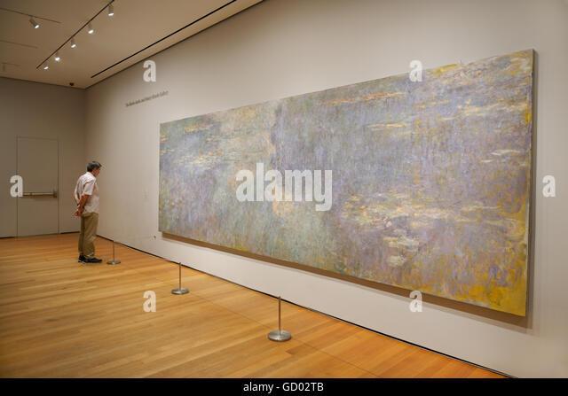 Water Lilies, 1914-1926, Claude Monet - Stock Image