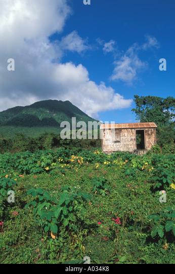Nevis Mount Nevis peak - Stock Image