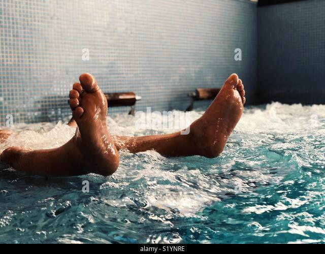 Man relaxing - Stock Image