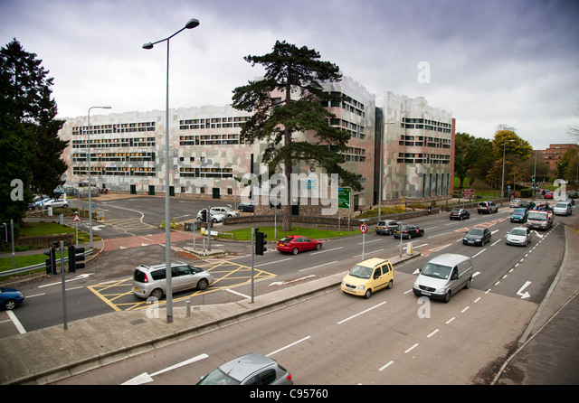 The headquarters of the WJEC Welsh Joint Education Committee, Cardiff, Wales UK - Stock Image