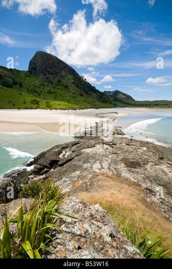 Spirits Bay, or Kapowairua, North Island, New Zealand - Stock Image