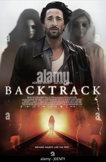ADRIEN BRODY POSTER BACKTRACK (2015) - Stock Image