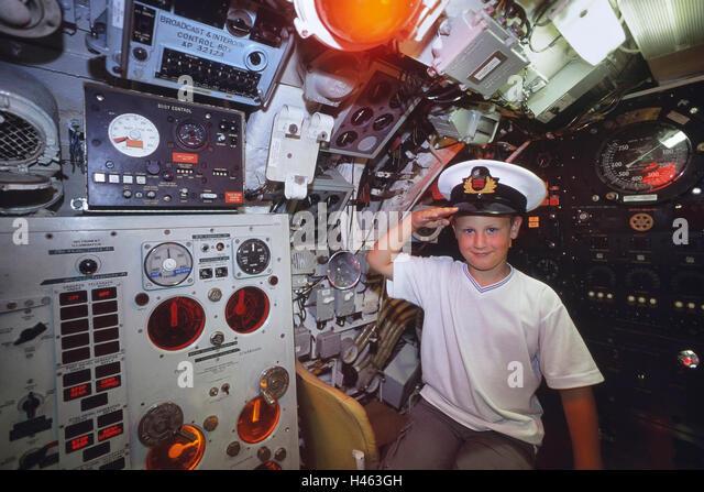HM Submarine Ocelot. Chatham historic dockyard. Kent. England. UK - Stock Image