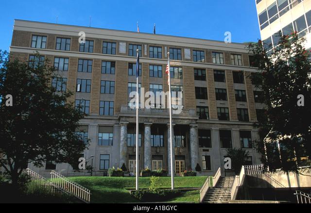 Alaska juneau state capitol building - Stock Image