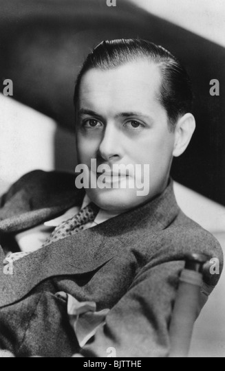 Robert Montgomery (1904-1981), American actor and director, 20th century. - Stock Image