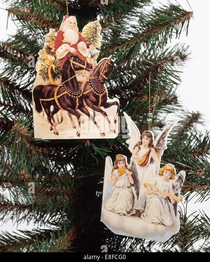 Victorian Christmas Tree Stock Photos & Victorian