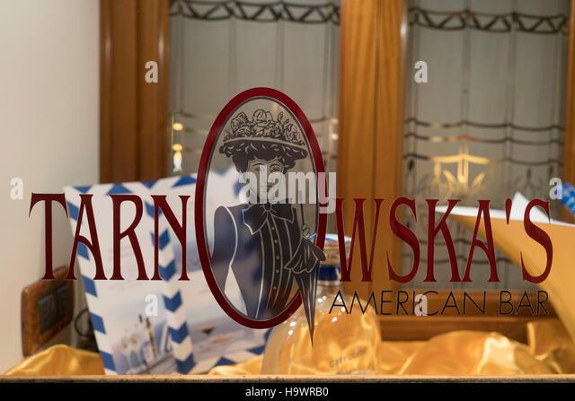 Tarnowskas American Bar, Venedig, Venezia, Venice, Italia, Europe, - Stock Image
