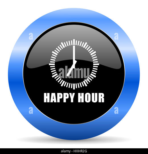 Cocktail Hour Food Menu Black And Blue