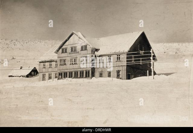 Spindleruv Mlyn - Czech Republic Ski Resort - Stock Image