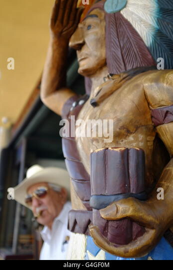 Portrait of Don Pedro Bello, Cuban-American cigar maker in Little Havana, Miami. - Stock Image