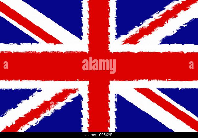 Union Jack. Illustration - Stock Image