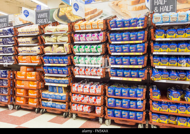 Bread Shelf Stock Photos Bread Shelf Stock Images Alamy