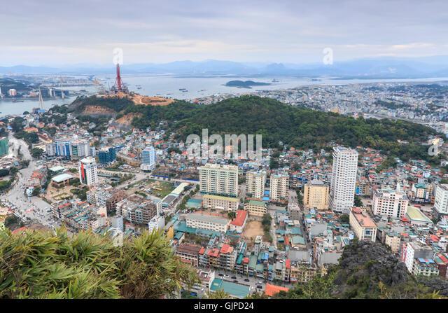 Vietnam Halong Bay From The Top Stock Photos & Vietnam ...