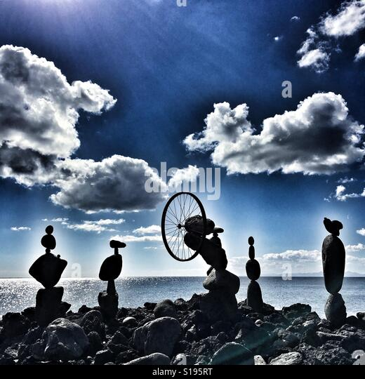 Zen stones - Stock-Bilder