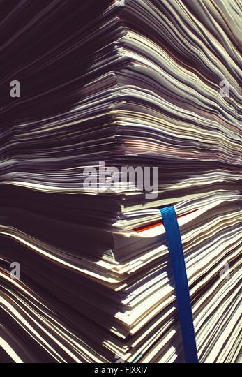 Full Frame Shot Of Papers - Stock-Bilder