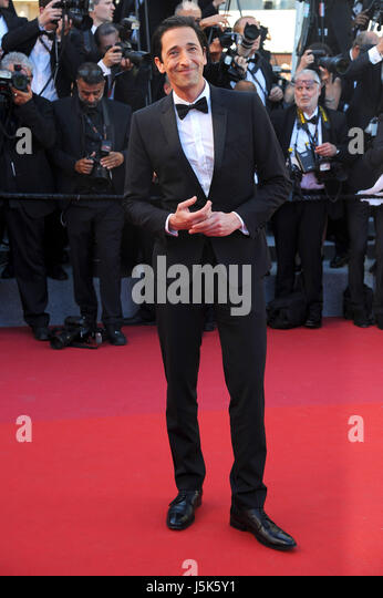 70th Cannes Film Festival 2017, Red Carpet 'Ismael's Ghosts (Les Fantomes d'Ismael)' & Opening - Stock Image