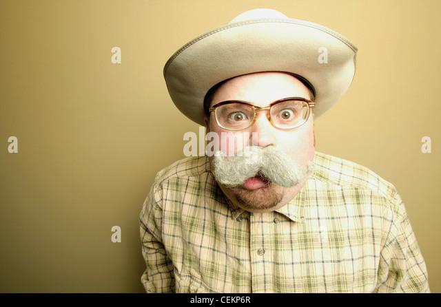 Man In Shock - Stock Image