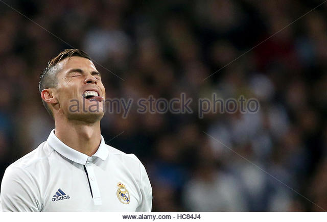 Football Soccer - Real Madrid v Borussia Dortmund - UEFA Champions League - Santiago Bernabeu stadium, Madrid, Spain - Stock Image