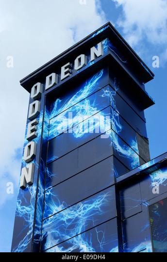 odeon cinema,   London - Stock Image