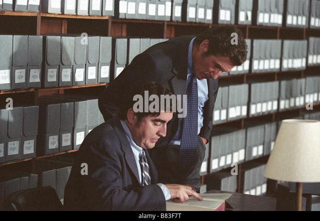 Alfred Molina Richard Gere Directed by Lasse Hallström - Stock Image