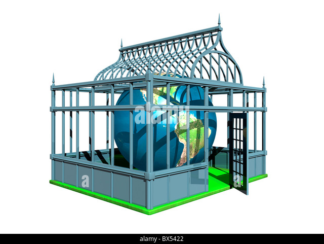 Global warming, conceptual artwork - Stock Image