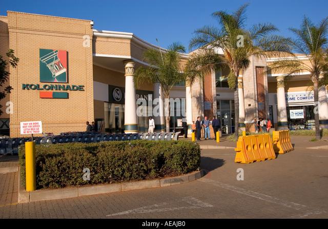 Pretoria City Kolonade Shopping Centre - Stock Image
