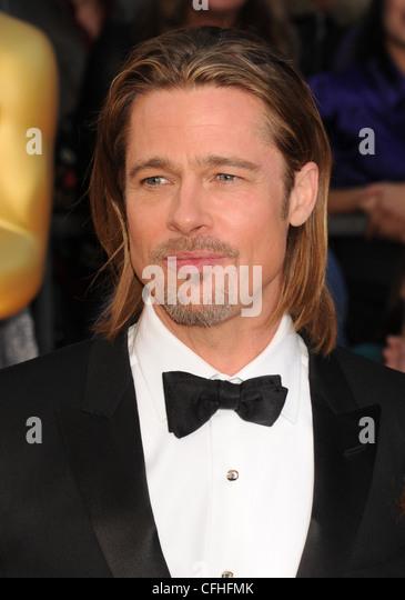 BRAD PITT  US film actor in February 2012 - Stock-Bilder