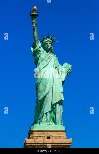 New York City, Statue of Liberty - Stock Image