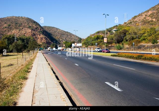 Pretoria city Wonderboom Poort - Stock Image