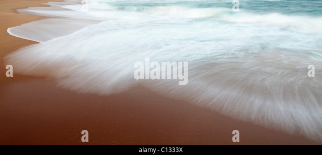 Surf at Thompson's Bay Beach, KwaZulu Natal Province, South Africa - Stock Image