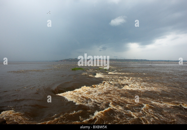 Congo River around Brazzaville, Republic of Congo, Africa - Stock-Bilder