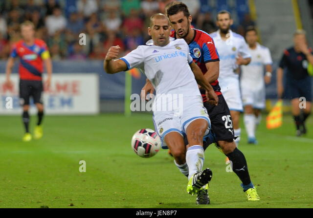 ***FILE PHOTO***  Israeli forward Tal Ben Haim Junior (front), 27, signed a four-year contract with AC Sparta Prague - Stock-Bilder