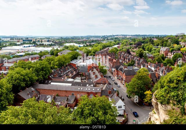 Nottingham - Stock Image