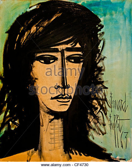 Francoise Hardy 1963 Bernard Buffet French Painter 1928 - 1999 France French singer actress and astrologer - Stock-Bilder