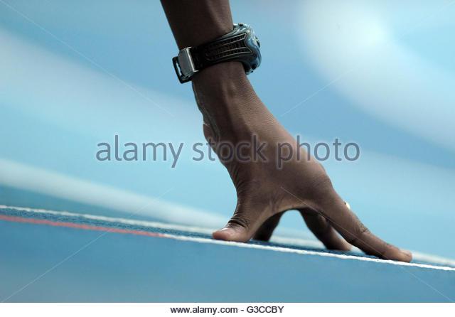 athletics - Stock Image
