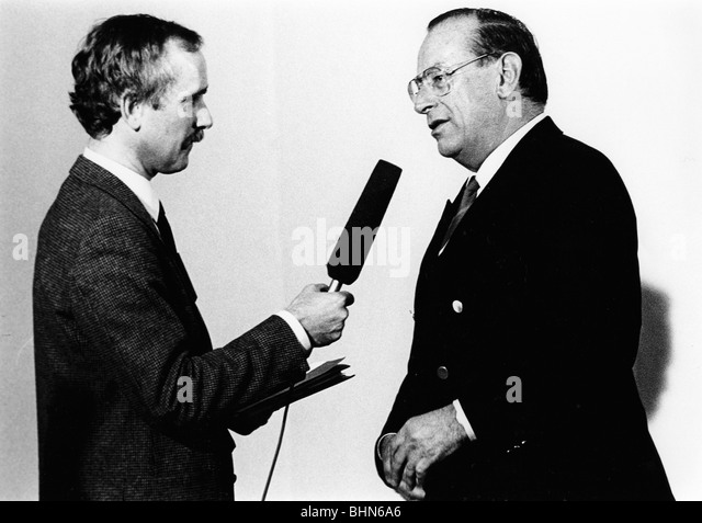Zimmermann, Friedrich, * 18.7.1925, German politician (CSU), 1982 - 1989 federal minister of the interior, 1989 - Stock Image